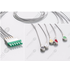 Unimed 5-lead ECG Leadwires, Integrated, SNAP, Dräger