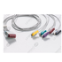 Unimed 5-lead ECG Leadwires, Integrated, GRABBER, GE Marquette