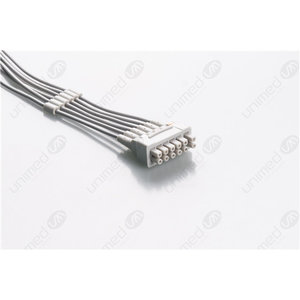 Unimed 6- lead ECG Telemetry Cable, SNAP, GE Healthcare