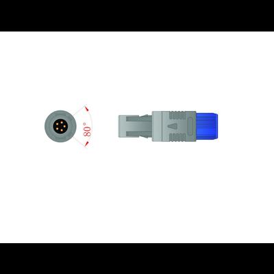 Unimed SpO2, Adult/Neonate Wrap  Sensor, 3m, U610-61D