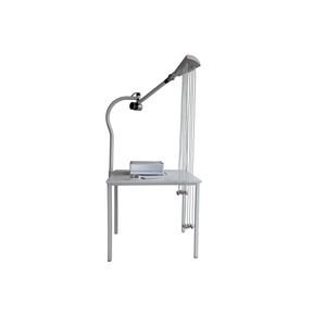 Strässle DT100 C, Table model with a support arm of steel