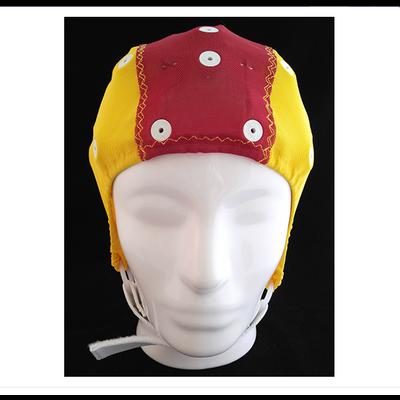 Electro-Cap Cap Medium-Small, 52-56cm, Red/Yellow, Extra Electrode