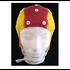 Electro-Cap Cap Medium-Small, 52-56cm, Red/Yellow