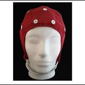 Electro-Cap Cap Medium, 54-58cm, Red, Extra Electrode