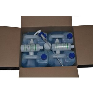"EF Medica Ultrasound gel ""TRANSOUND® Blue"" 5000 ml Can"