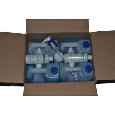 "EF Medica Ultrasound gel ""TRANSOUND® Blue"" 5000 ml Can"