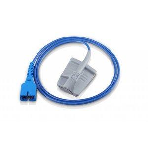 Edan SH4 Adult Silicone Soft-tip SpO2 Sensor(DB9), 1m