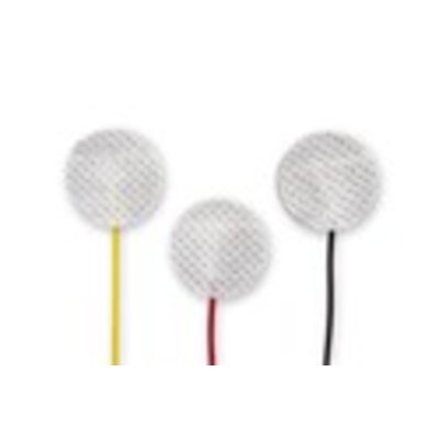EF Medica ECG Disp. Neo prewired Electrode Radiolucent, 24mm, 90cm leadwire, Safety Din, 3Pc/Pck