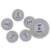 EF Medica Pregelled (Solid) Tape Adhesive, 55mm diameter, 30Pc/Pck