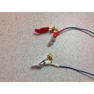 Electro-Cap Ear Electrodes 9mm Pair TP Sockets, standard