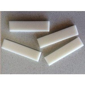 Electro-Cap Chin Straps Pads, 100Pc/Box