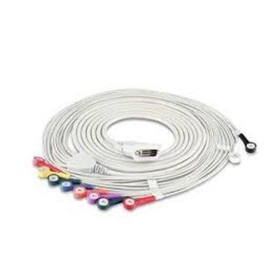 Edan ECG Cable (Snap Style, IEC)