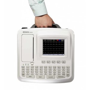 Edan SE-601 C Electrocardiograph, 6 channel ECG, with Touch Screen and internal Wi-Fi