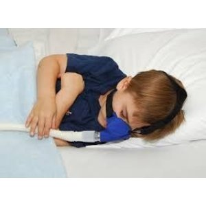 SleepWeaver Advance Pediatric Mask and Headgear -Blue