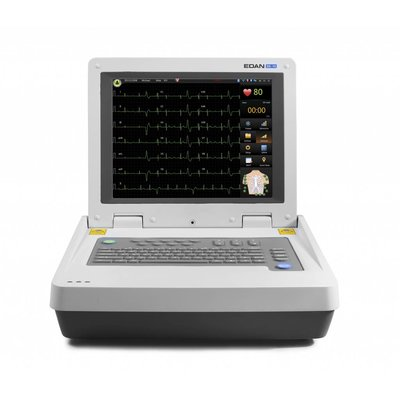Edan SE-18, Electrocardiograph, 18 channel ECG, with Touch screen + Wi-fi
