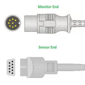 Unimed SpO2, U708-07, Datascope, 2.2m, 0012-00-0516-02