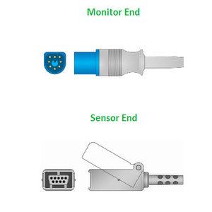 Unimed SpO2, U708M-43, Philips/HP, Masimo LNCS sensor, 2.2m, 989803148221
