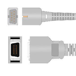 Unimed SpO2,U704-01, Nellcor/Coviden, Nellcor non-Oximax , 1.1m