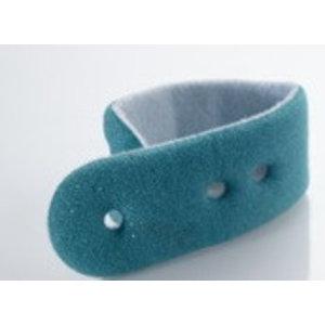 Unimed SpO2, Reusable 3 holes Foam Tape, E023-12, all patient sizes,12Pc/Pck