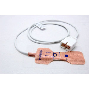 Unimed SpO2, Disposable Pediatric(15-40kg) Sensor, 0.9m, U523-01, 24Pc/Box
