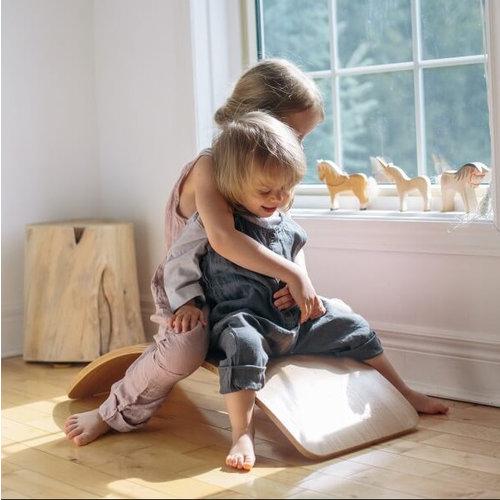Kinderfeets Balance board - White Wash