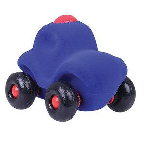 Rubbabu Kleine Speelgoedauto Politie - 11cm - Blauw