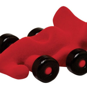 Rubbabu Big Toycar Formule 1 - 22 cm - Red
