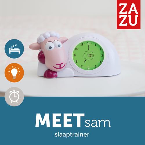 Zazu Sam Slaaptrainer Roze - Schaap Kinderwekker