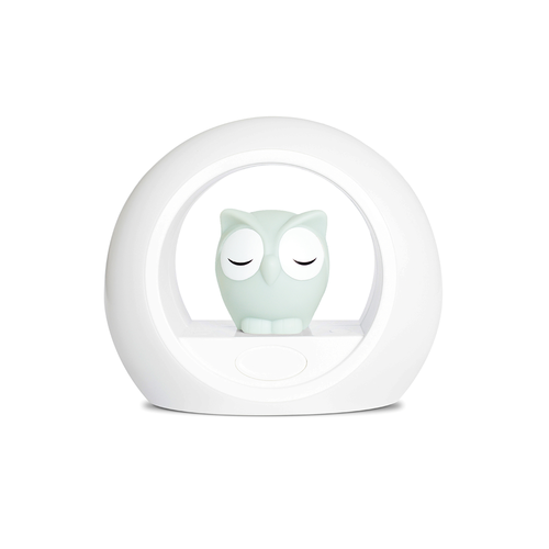 Zazu Lou Nightlight Grey - Owl