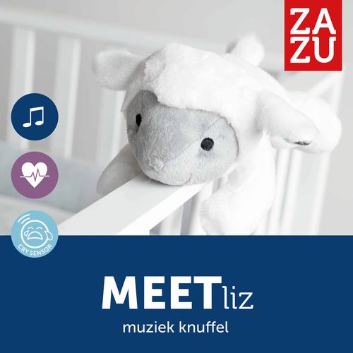 Zazu Liz Heartbeat Toy - Scheep with Crysensor