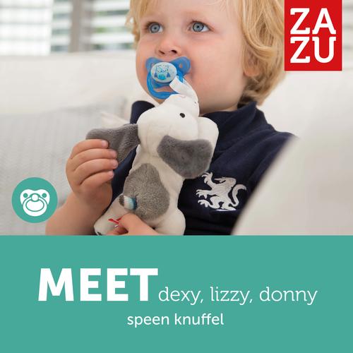 Zazu Dexy Teath Hug  - Dog-  Fits almost all soothers!