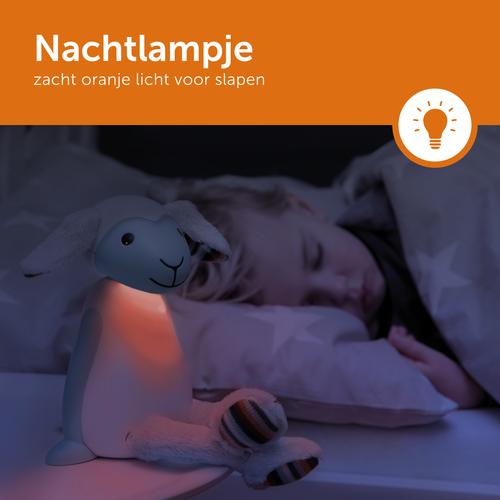 Zazu Fin Kinderlamp - Blauw - Leeslampje & Nachtlampje