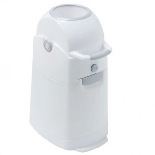 DiaperChamp Diaperpail Regular Classic for Home - Grey / White