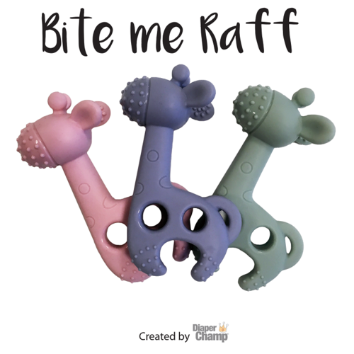 Bite Me Raff Bite Me Raff - The Funniest Giraffe Teether!