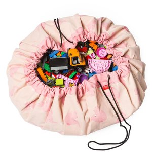 Play&GO Speel / Opbergkleed - Olifant Roze