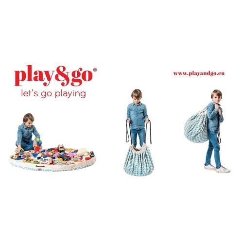 Play&GO Play & Go - Playing Mat - Green Diamonds