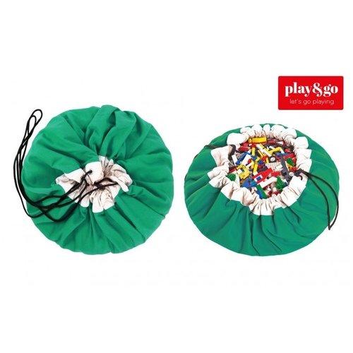Play&GO Play & Go - Speel / Opbergkleed - Groen Gras