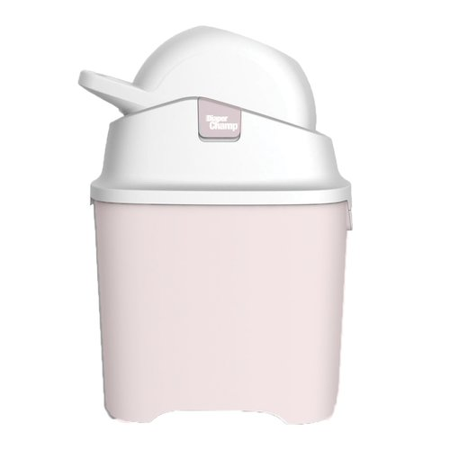 DiaperChamp Diaperpail - One -  Home Edition / Standard - Pink