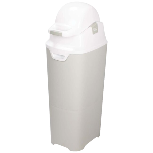 DiaperChamp Diaperpail - One -  MAXI - Silver