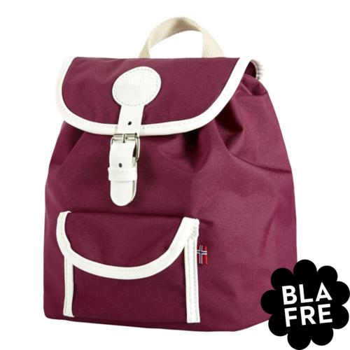 Blafre Kinder Rugzak Backpack - 3 tot 5 Jaar - Plum Red/  Bordeaux Rood