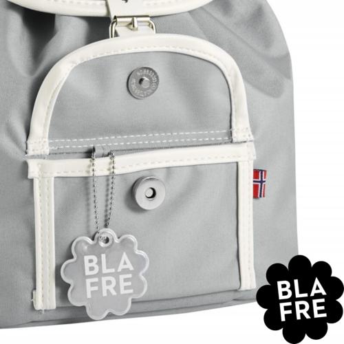 Blafre Kinder Rugzak Backpack - 3 tot 5 Jaar - Grijs/ Grey