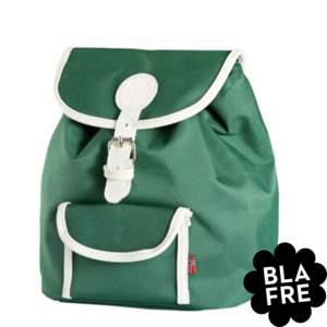 Blafre Kinder Rugzak Backpack - 3 tot 5 Jaar - Dark Green/ Donkergroen