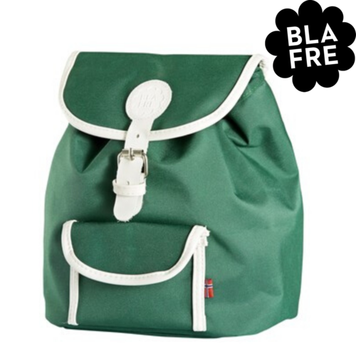 Blafre Kinder Rugzak Backpack - 1 tot 4 Jaar - Dark Green/ Donker Groen