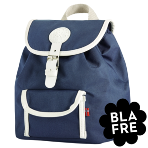 Blafre Kinder Rugzak Backpack - 1 tot 4 Jaar - Navy - MarineBlauw