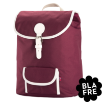 Kinder Rugzak Backpack - 5 to the Teenager - Plum Red - Bordeaux rood