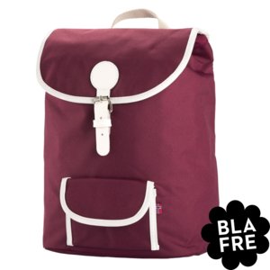 Blafre Kinder Rugzak Backpack - 5 to the Teenager - Plum Red - Bordeaux rood