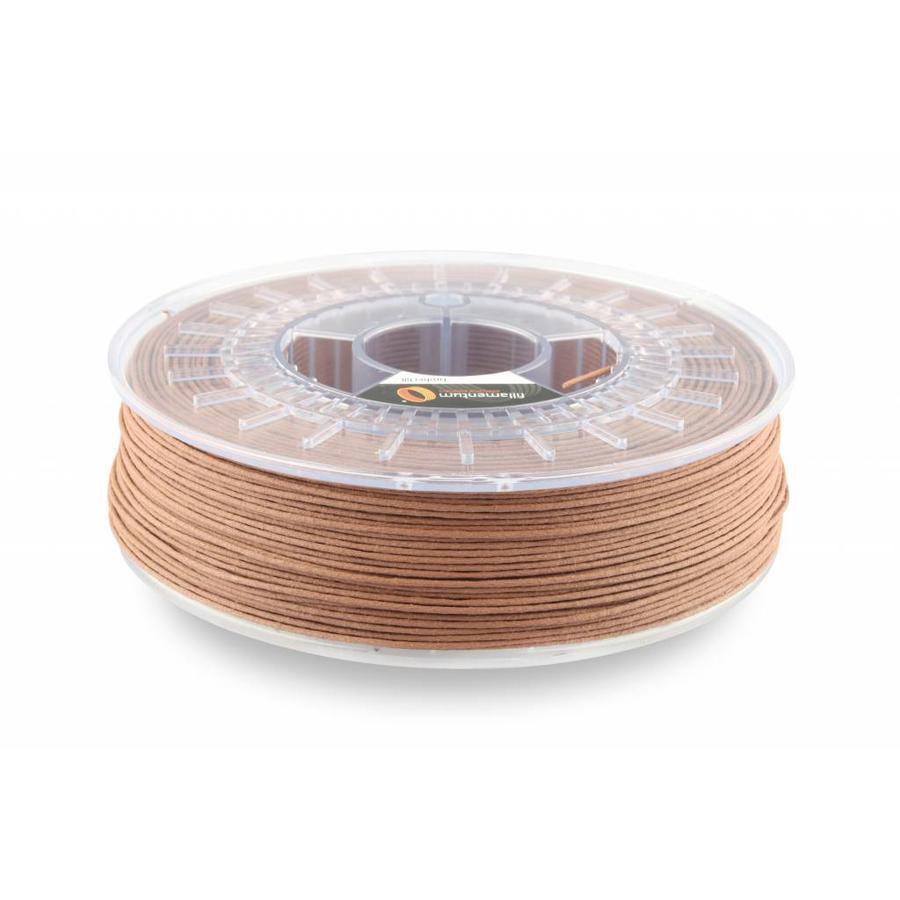 Timberfill / hout, kleur; Cinnamon, wood composite filament 1.75 / 2.85 mm, 750 gram-1