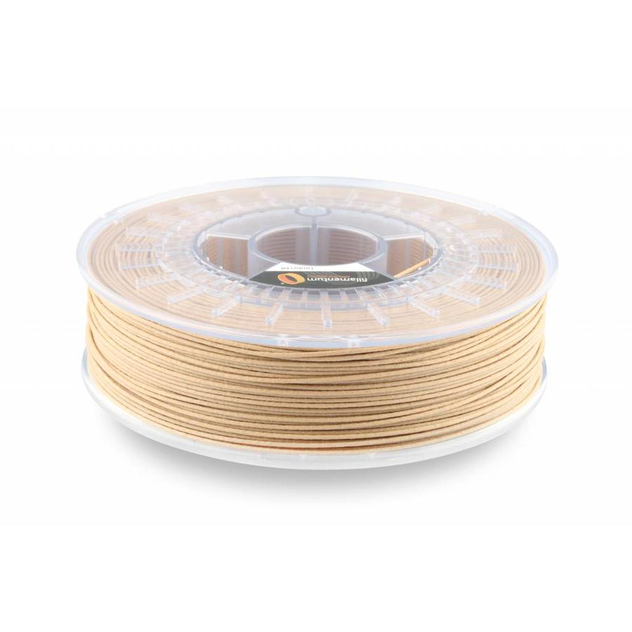 Timberfill / hout: Lightwood tone, wood composite filament 1.75 / 2.85 mm, 750 gram-1