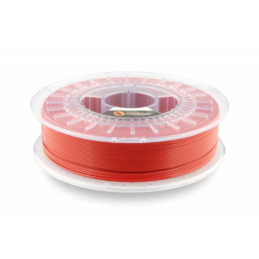 PLA Traffic Red / Rood: RAL 3020, 1.75 / 2.85 mm, 750 gram (0.75 KG)-1