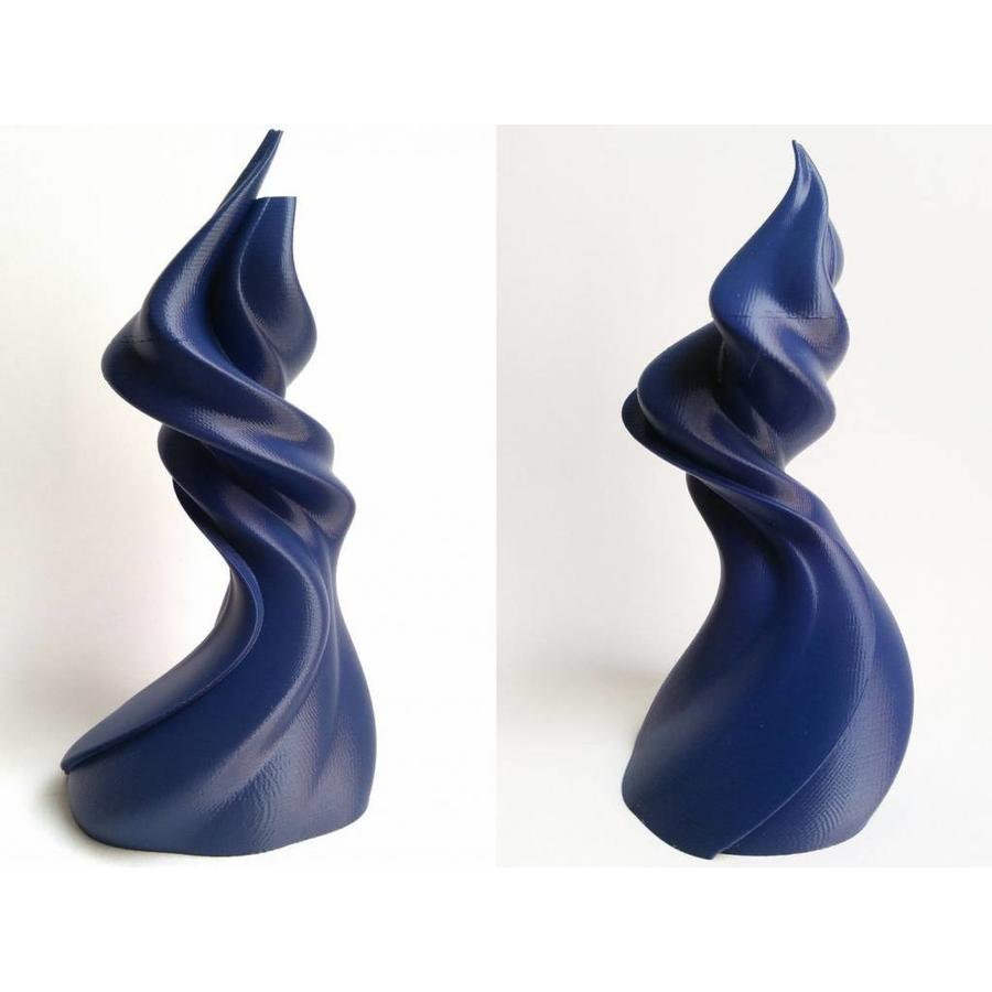 PLA Cobalt Blue: RAL 5013, Pantone 5255, 750 gram (0.75 KG)-4